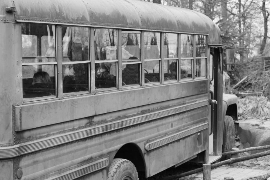 """Bus in Alaska"""