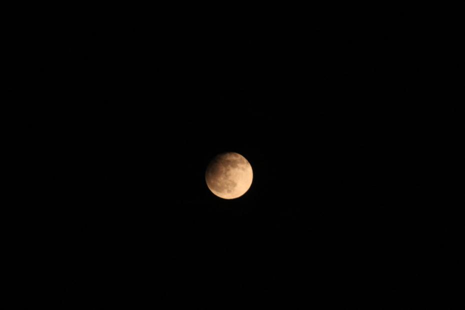 partielle Mondfinsternis
